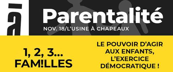 Actualités Rambouillet - 1,2,3 Familles au Foyer de l'Usine à Rambouillet le mardi 20 novembre 2018