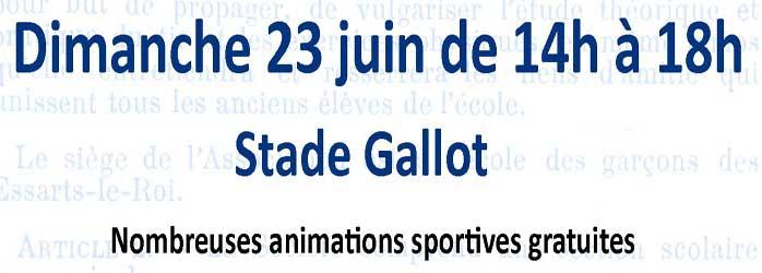 Actualités Rambouillet - Animations sportives aux Essarts-Le-Roi dimanche 23 juin 2019