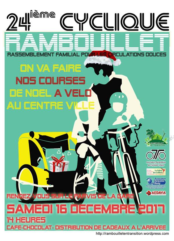 La 24ème Cyclique de Rambouillet le samedi 16 décembre 2017