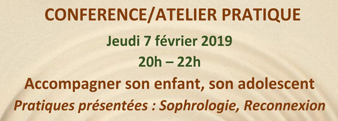 Actualités Rambouillet - Conférence, atelier pratique à Rambouillet
