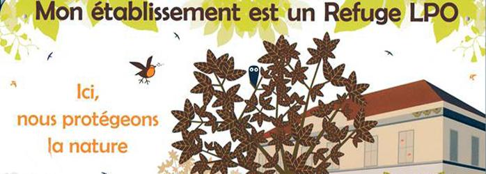 Actualités Rambouillet - Le lycée Louis Bascan à Rambouillet devient officiellement Refuge pour les oiseaux