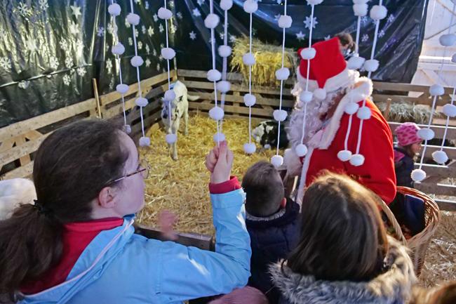 La Bergerie Nationale à Rambouillet fête Noël