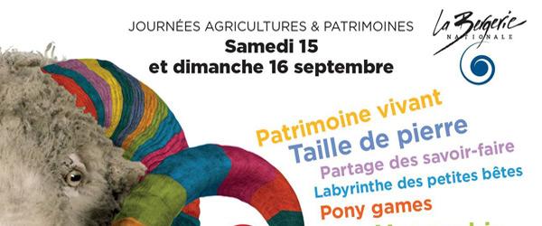 Actualités Rambouillet - Les journées agricultures et patrimoines à la Bergerie Nationale de Rambouillet