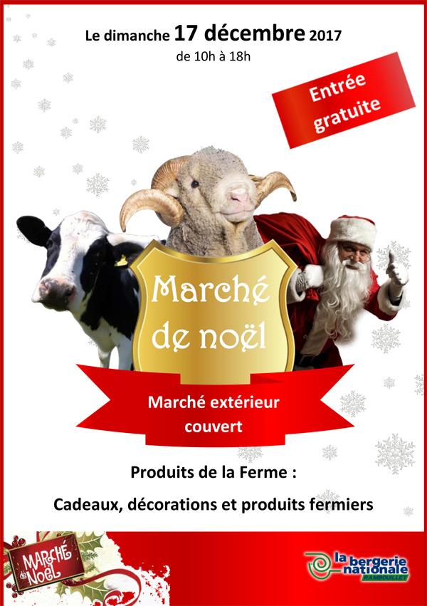 Le Marché de Noël à la Bergerie Nationale de Rambouillet