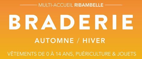 Actualités Rambouillet - Braderie Automne-Hiver de la Halte Garderie de Ribambelle à Rambouillet