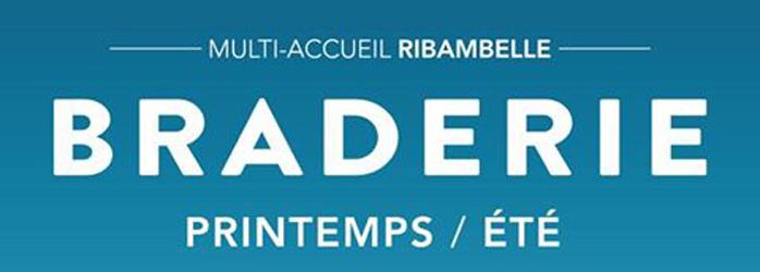 Actualités Rambouillet - Braderie printemps-été du multi-accueil Ribambelle à Rambouillet