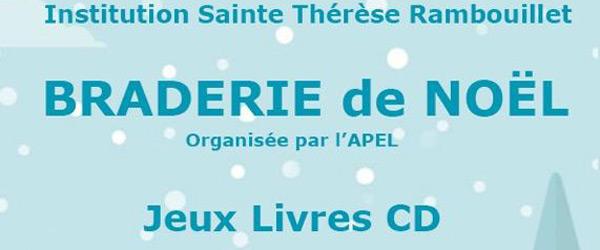 Actualités Rambouillet - Braderie de Noël à l'institution Sainte Thérèse à Rambouillet