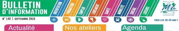 Mission Locale Intercommunale de Rambouillet : bulletin de septembre 2016