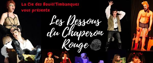 Actualités Rambouillet - Les dessous du chaperon rouge au théâtre Le Nickel à Rambouillet