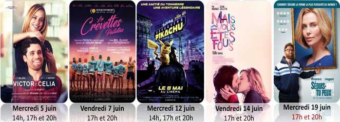Actualités Rambouillet - Le programme du cinéma Les Prairiales à Epernon en juin et juillet 2019