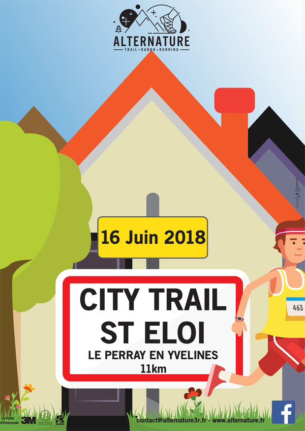 Le City Trail de la Saint-Eloi au Perray-en-Yvelines, le 16 juin 2018
