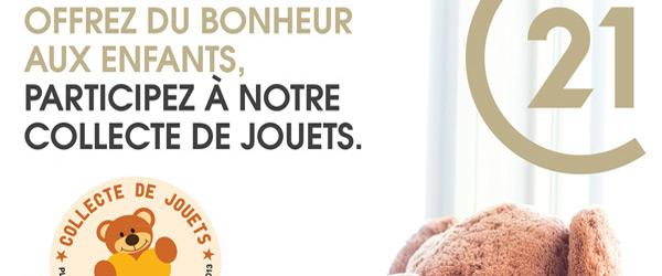 Actualités Rambouillet - Collecte de jouets à Rambouillet du 1er au 30 novembre 2018