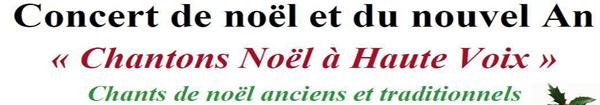 Actualités Rambouillet - Concert de noël et du nouvel An à Rambouillet : Chantons Noël à Haute Voix