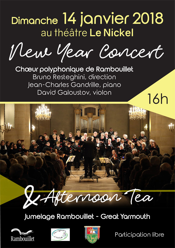 New Year Concert and Afternoon Tea, au Théâtre Le Nickel à Rambouillet