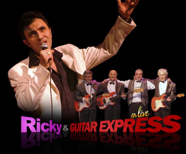 Concert de Ricky Norton et Guitar Express à Saint Hilarion