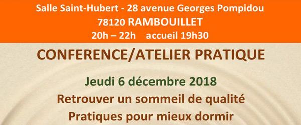 Actualités Rambouillet - L'association Bien-être en Yvelines organise une conférence - atelier à Rambouillet