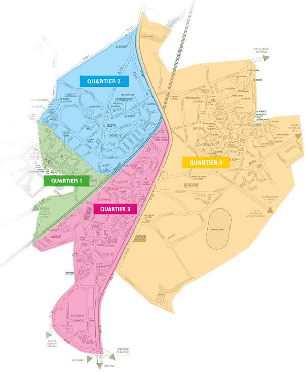 Les permanences de quartier à Rambouillet