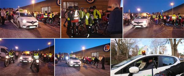 Actualités Rambouillet - Le club de Cyclotourisme de Rambouillet participe au Téléthon les 7 et 8 décembre 2018