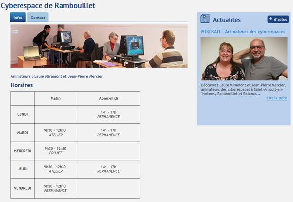 Le Cyberespace de Rambouillet