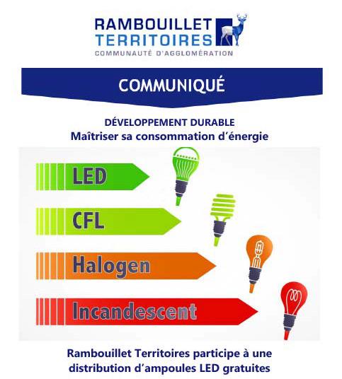 Maîtriser sa consommation d'énergie : des ampoules LED offertes !