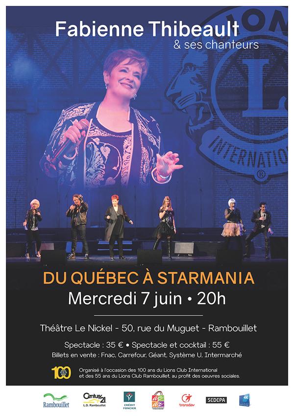Fabienne Thibeault et ses chanteurs seront en concert à Rambouillet
