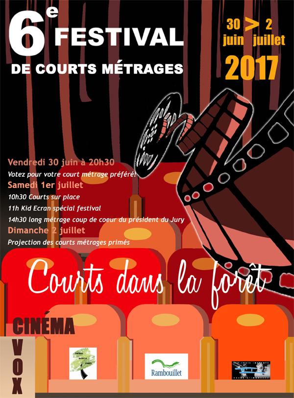 6ème Festival de courts métrages au Vox à Rambouillet