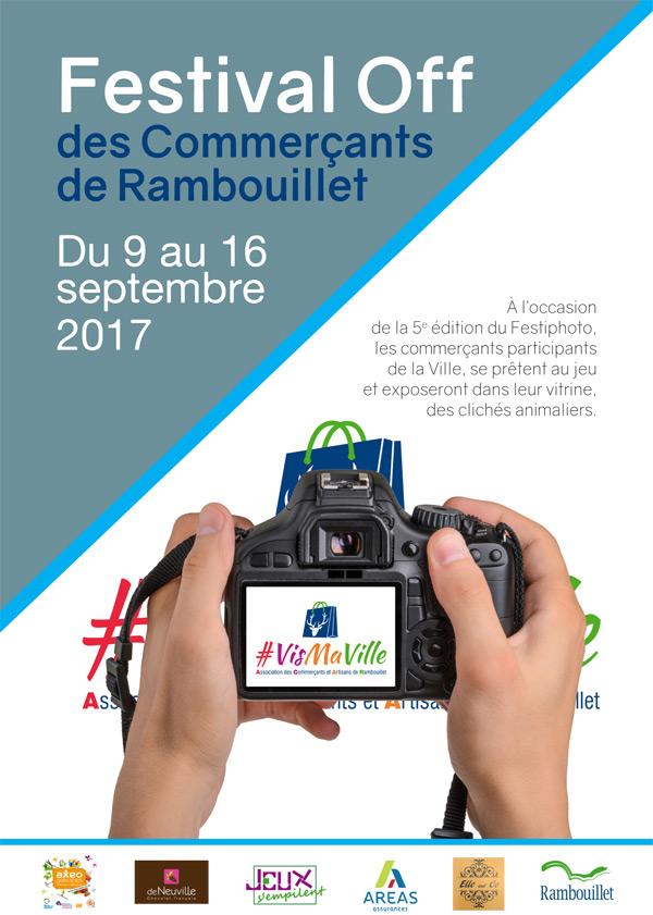 Festival Off des Commerçants de Rambouillet du 9 au 16 septembre 2017