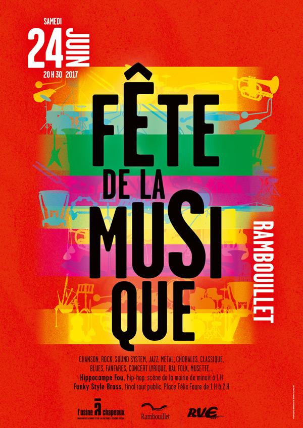 La Fête de la Musique à Rambouillet samedi 24 juin 2017