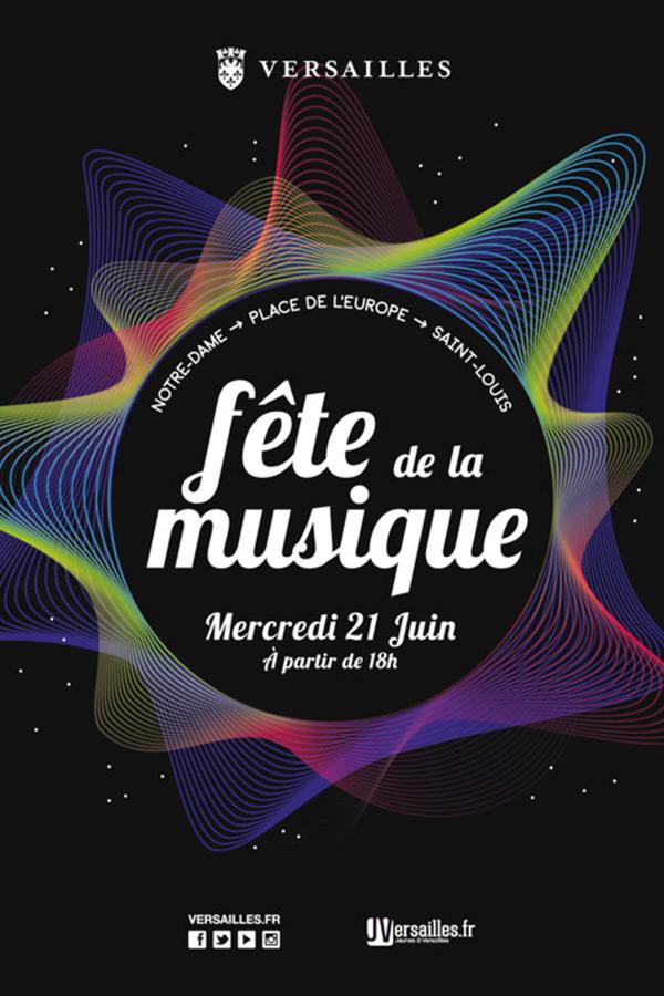 Fête de la musique à Versailles le mercredi 21 juin 2017