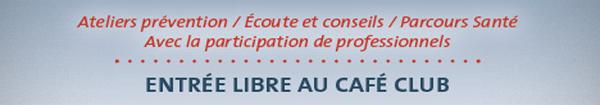 Actualités Rambouillet - Forum santé au Café club à Rambouillet