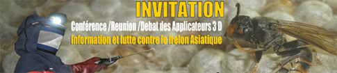 Conférence Réunion Débat à Rambouillet : le frelon asiatique