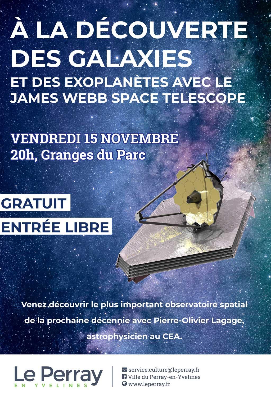 Conférence Le Perray-en-Yvelines : à la Découverte des Galaxies - Ramboliweb.com