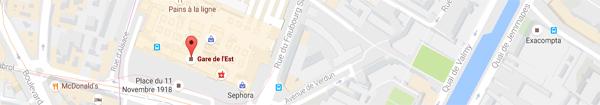 Actualités Rambouillet - Rendez-vous gare de l'est à La Lanterne