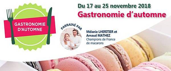 Actualités Rambouillet - Gastronomie d'automne à Rambouillet Territoires du 17 au 25 novembre 2018