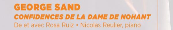 Actualités Rambouillet - George Sand, confidences de la dame de Nohant à Saint-Arnoult-en-Yvelines