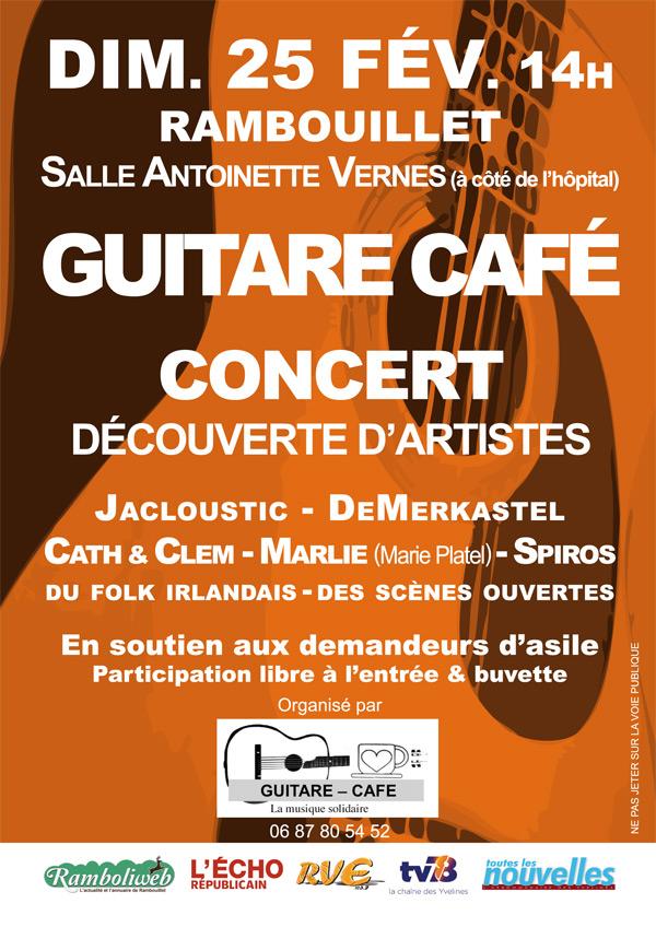 Concert Rock Folk Blues salle Antoinette Vernes à Rambouillet