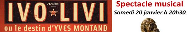 Actualités Rambouillet - Ivo Livi ou le destin d'Yves Montand aux Prairiales à Epernon