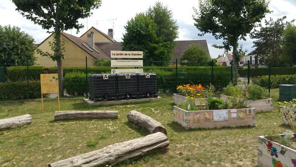 Le Jardin de la Clairière à Rambouillet, jardin pédagogique