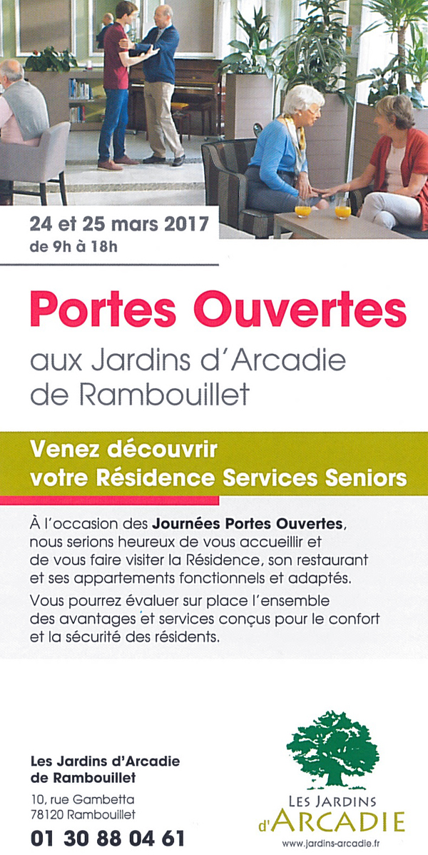 Portes ouvertes aux Jardins d'Arcadie de Rambouillet