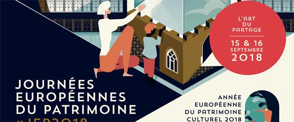 Actualités Rambouillet - Les journées Européennes du patrimoine à Rambouillet, l'art du partage, samedi 15 et dimanche 16 septembre 2018