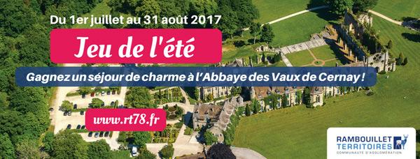 JEU DE L'ÉTÉ : Jouez et tentez de gagner un séjour de charme à l'Abbaye des Vaux de Cernay !