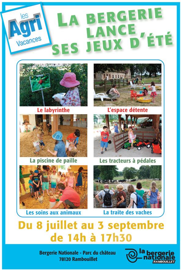 La Bergerie Nationale à Rambouillet lance ses jeux d'été