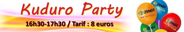 Participez à la Kuduro Party à la salle des sports Proxiforme à Rambouillet