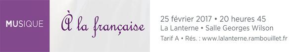 Actualités Rambouillet - Musique classique à La Lanterne : à la française