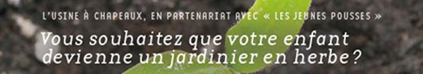 Actualités Rambouillet - Les mains dans la terre à l'Usine à Chapeaux