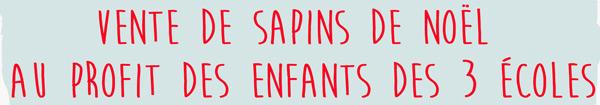 L'association Les Loups' Stics organise la vente de Sapin de Noël à Rambouillet