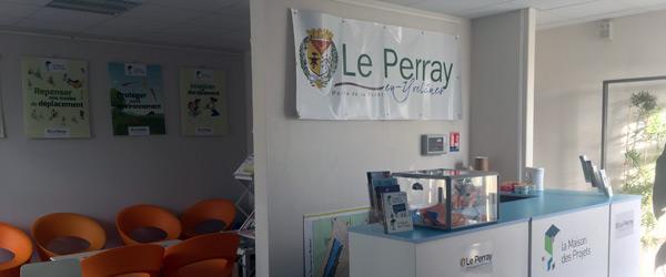Actualités Rambouillet - En novembre et décembre à La maison des projets au Perray en Yvelines