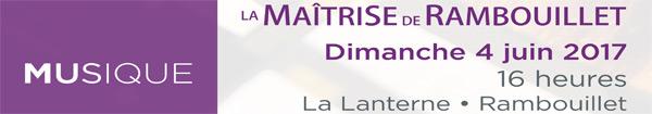 Actualités Rambouillet - Concert de printemps au Pôle culturel La Lanterne dimanche 4 juin 2017
