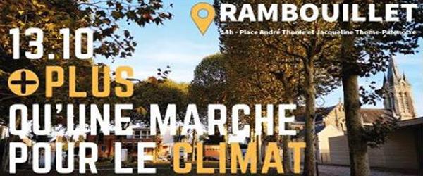 Actualités Rambouillet - Marche pour le Climat à Rambouillet le samedi 13 octobre 2018