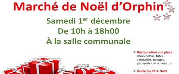 Actualités Rambouillet - Marché de Noël d'Orphin le samedi 1er décembre 2018